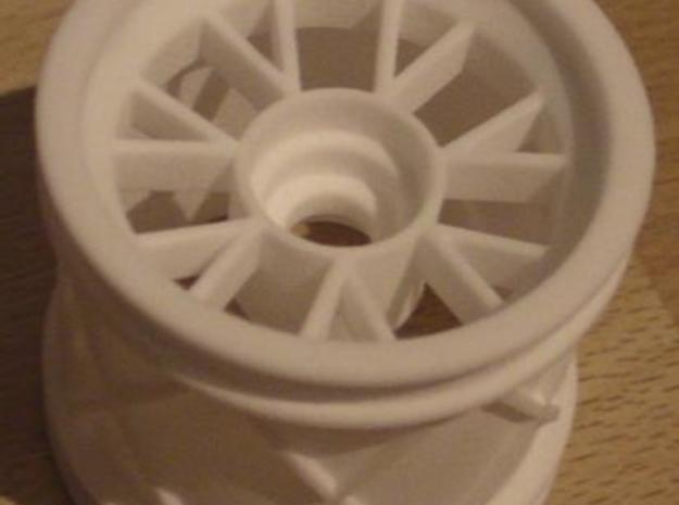 Ferrari F1 2007 front wheel 1:7 3d printed Description