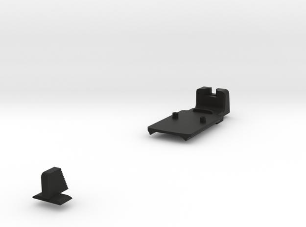 VP9 TALL SIGHT + RMR Combo  in Black Natural Versatile Plastic