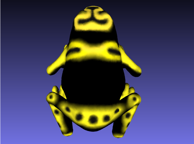 Bumblebee Poison Dart Frog 3d printed