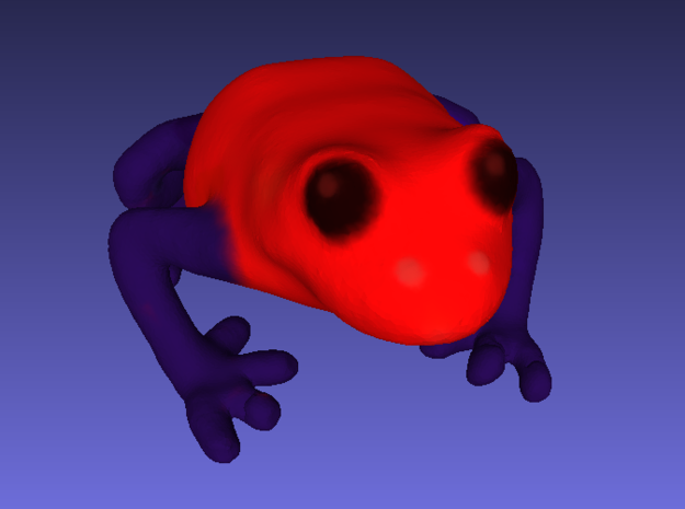 Strawberry Poison Dart Frog 3d printed
