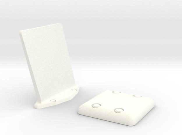 1.6 Combo Set EC GPS ANTENNE PLAT in White Processed Versatile Plastic