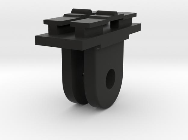 Contour Cam to GoPro Mount Adapter (Forward Tiltin in Black Strong & Flexible