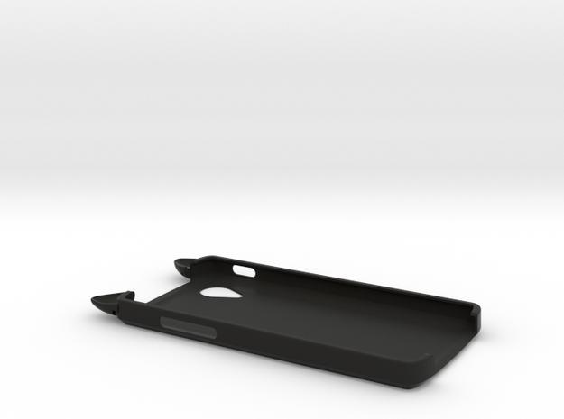 Cat Ears Case for Google LG Nexus 5 in Black Natural Versatile Plastic