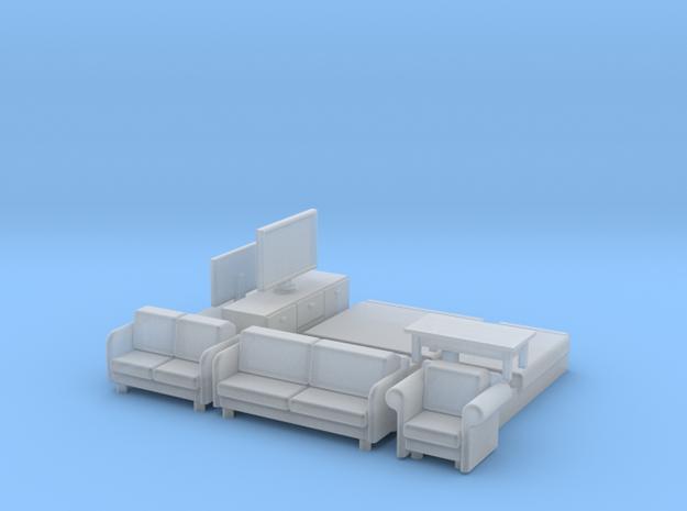 N Scale House Furniture Modern