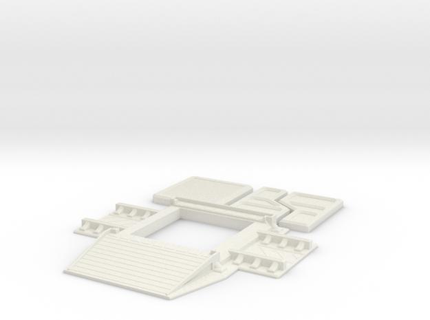 Subterranean Hanger in White Natural Versatile Plastic