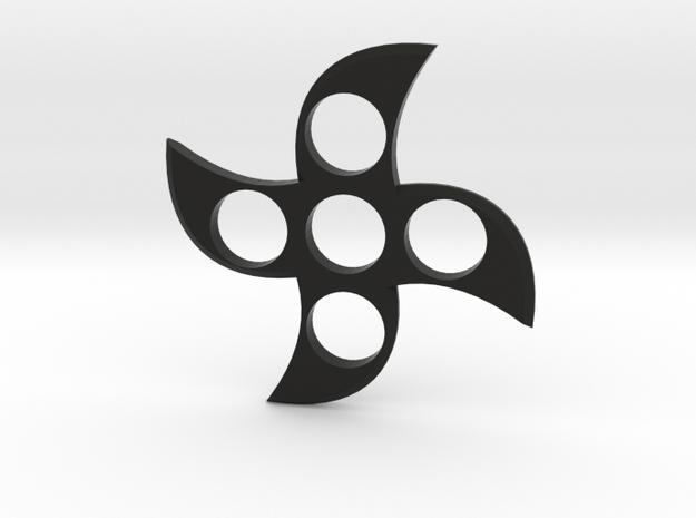 Cool Ninja Fidget Spinner in Black Strong & Flexible