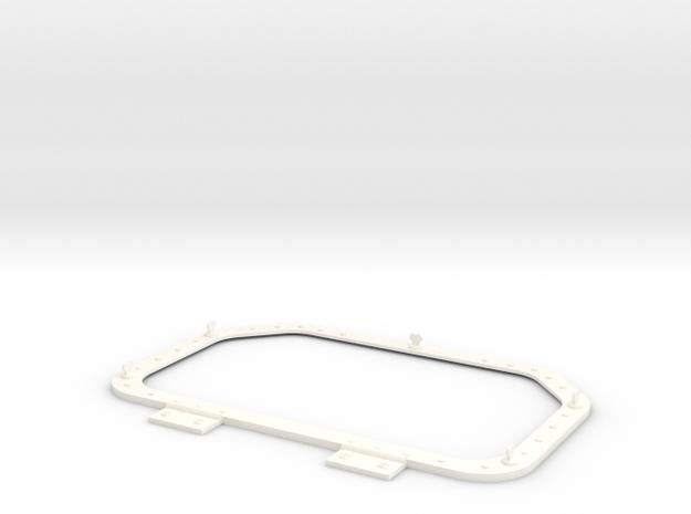 1.4 Trappe Aerateur MD500 in White Processed Versatile Plastic