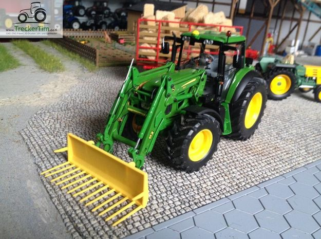 Mistgabel 2.5m  Wiking in Yellow Processed Versatile Plastic