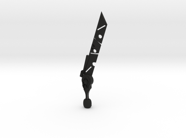 Zelda Gaurdian Sword in Black Strong & Flexible