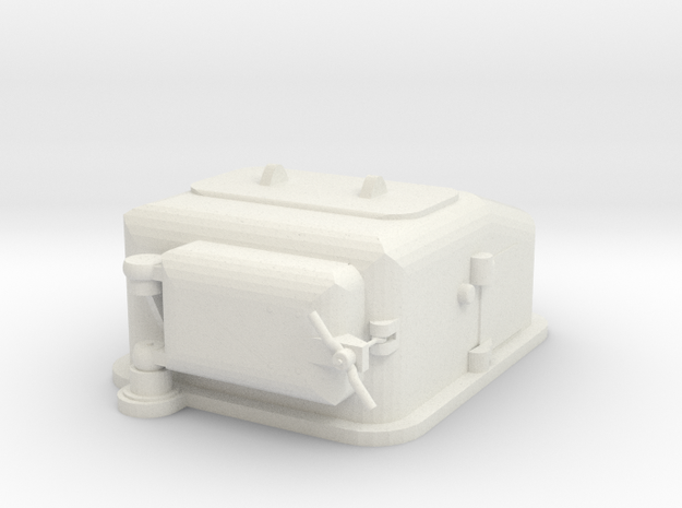 1/100 scale Type II Ammunition Lift  in White Natural Versatile Plastic