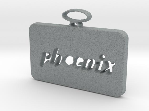 Phoenix pendant in Polished Metallic Plastic