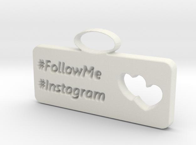 Instagram charm