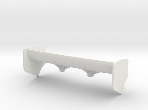 AILERON Mc Laren 12C et LA FERRARI gros appui Aéro in White Natural Versatile Plastic