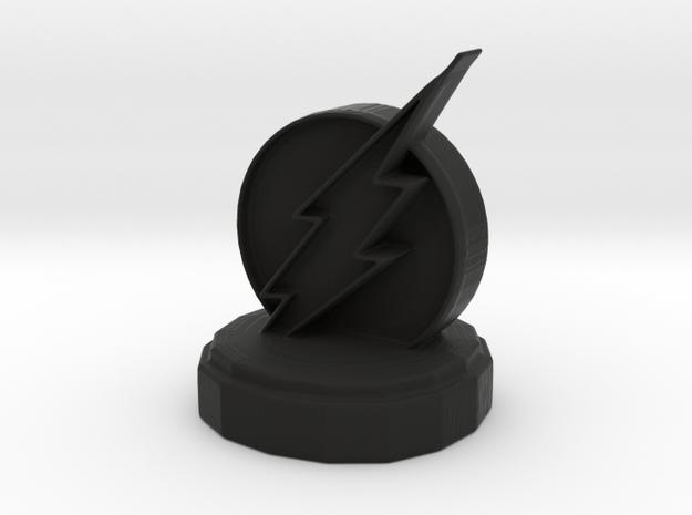 DC Rook in Black Natural Versatile Plastic