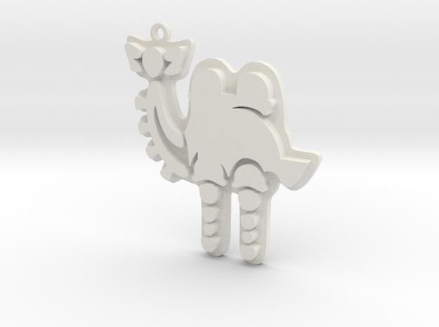 Zelda Divine Beasts Vah Naboris pendant botw in White Natural Versatile Plastic