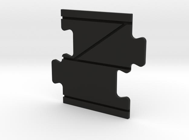 TRACK-LOOP-LR00 in Black Natural Versatile Plastic