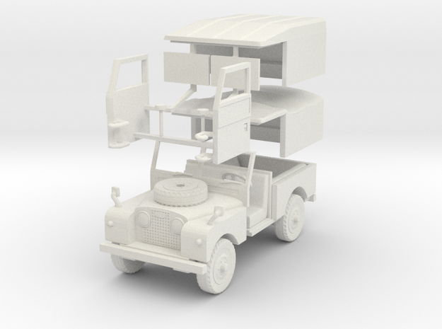 LandRoverS1 88 1 30 B in White Natural Versatile Plastic