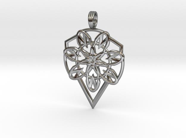 ENERGY DIAMOND in Premium Silver