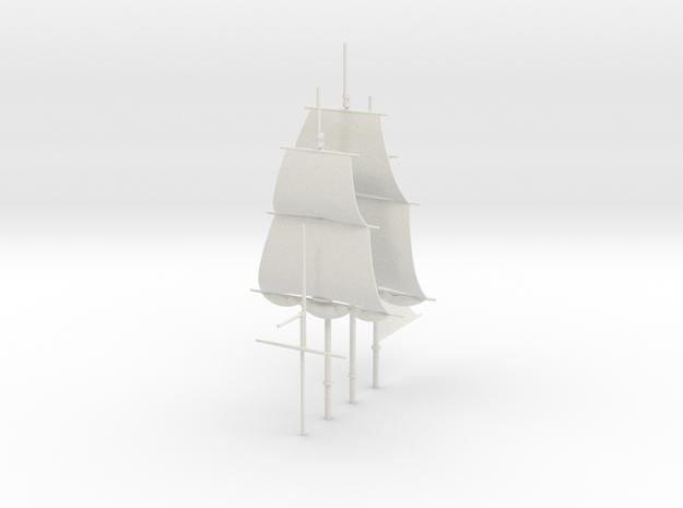 1/300 Frigate Mast Set V1