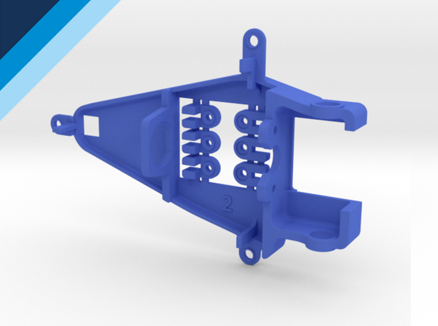 Small Can 0.2mm Offset IL - NSR compatible pod in Blue Strong & Flexible Polished