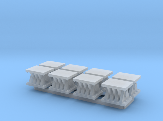 N Scale 8 Bridge Shoes #2