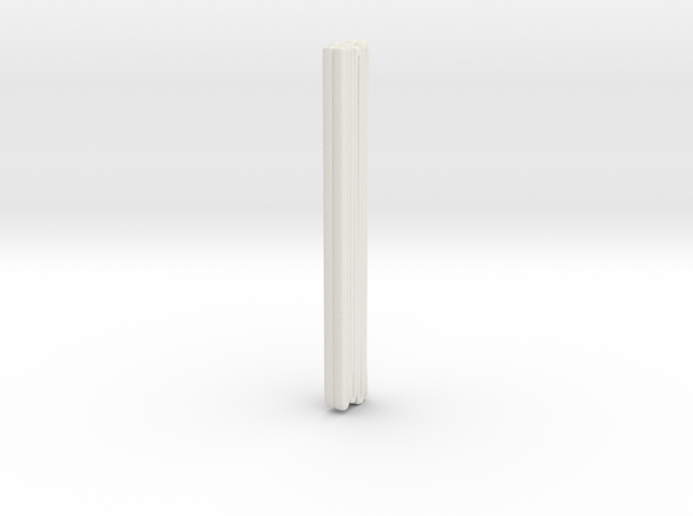1/87 ALF Engine Hose Load 2 in White Natural Versatile Plastic
