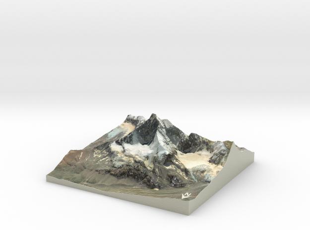 """Matterhorn / Monte Cervino Map: 6"""" (15.2 CM)"""