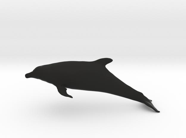 Bottlenose Dolphin (Turiops truncatus) in Black Natural Versatile Plastic