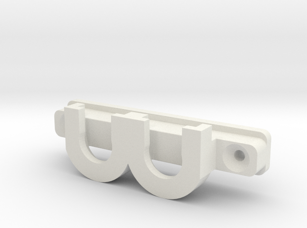 Ikea KVARTAL panel hardware in White Natural Versatile Plastic