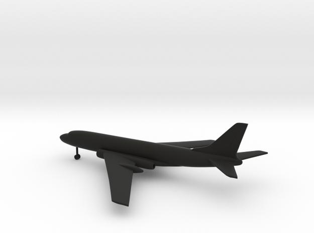 Tupolev Tu-104 Camel in Black Natural Versatile Plastic: 1:400