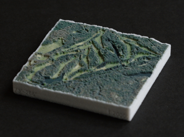 Pine Valley Golf Course, NJ, USA, 1:20000 in Full Color Sandstone
