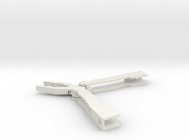 Folding pocket pliers