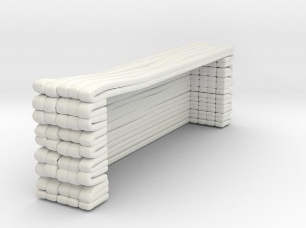 1/87 FDNY SAT Hose Load 5 in White Natural Versatile Plastic