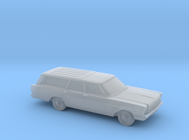 1/160 1966 Ford Country Squire in Smooth Fine Detail Plastic
