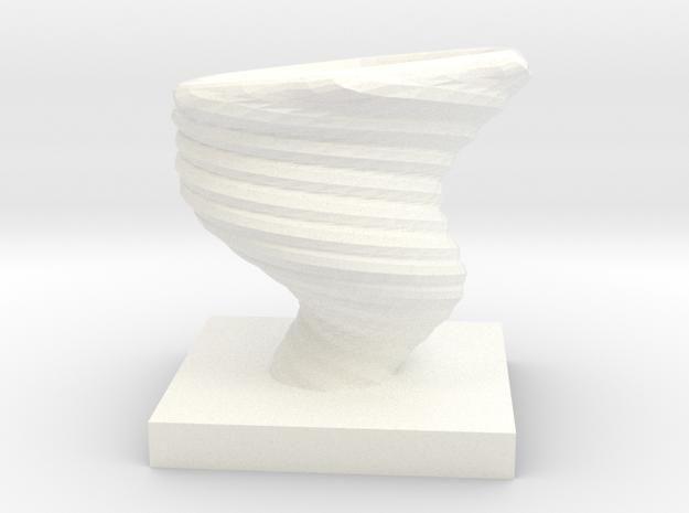 AIR ELEMENTAL DRAGONSTONE in White Processed Versatile Plastic