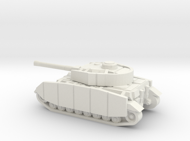 PZ IV ausfj 1/160 in White Natural Versatile Plastic