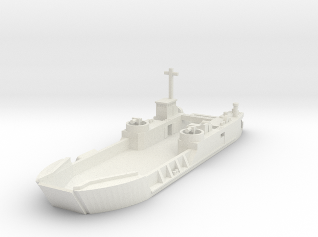 1/285 Scale LCT6 in White Strong & Flexible