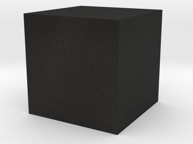 Cube.1 in Black Acrylic