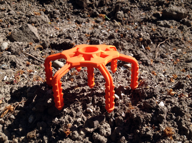 SeedSquid™ 5080 in Orange Strong & Flexible Polished
