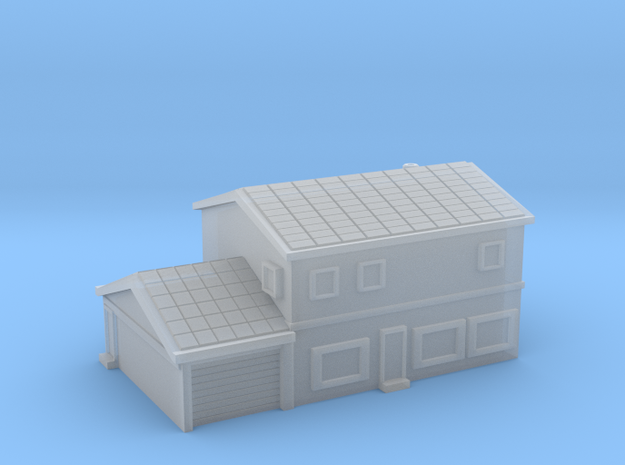 House 4 - 2 levels and garage in Smooth Fine Detail Plastic