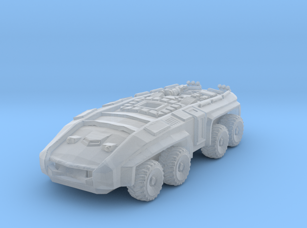 Futuristic APC Miniature in Smooth Fine Detail Plastic