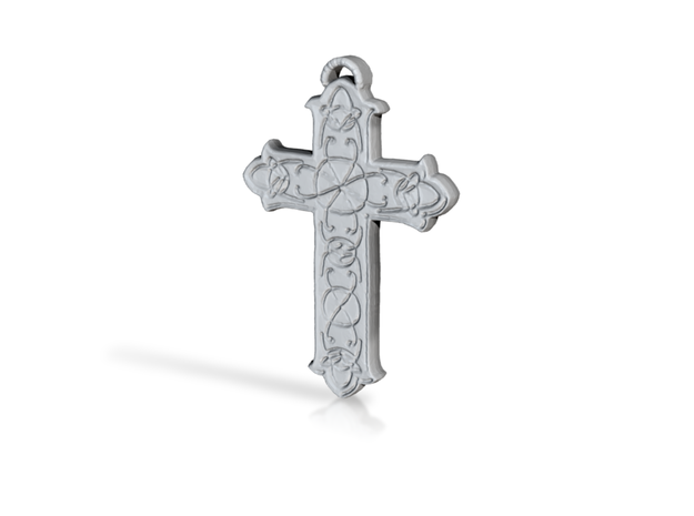 Celtic Cross in Stainless Steel: Small