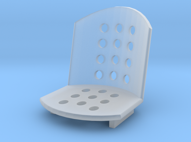 1/18 Bomber seat in Smooth Fine Detail Plastic