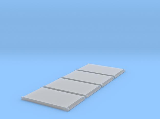 LTR11200 Unterlegsplatten  in Smooth Fine Detail Plastic