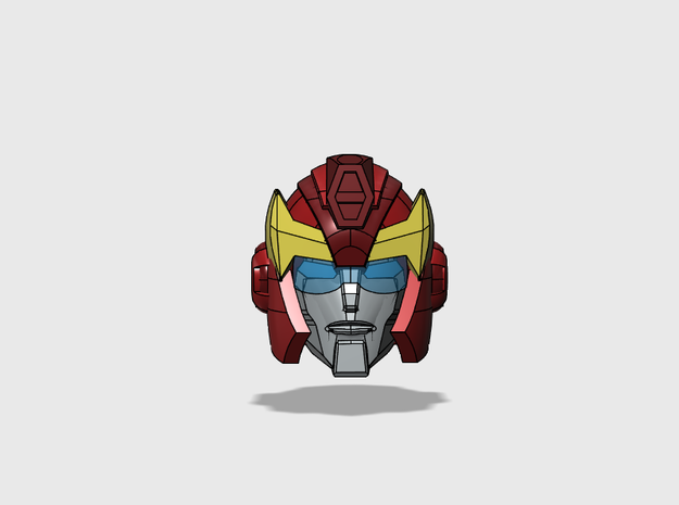 Hot-headed Recruit Head G1-style for Animated