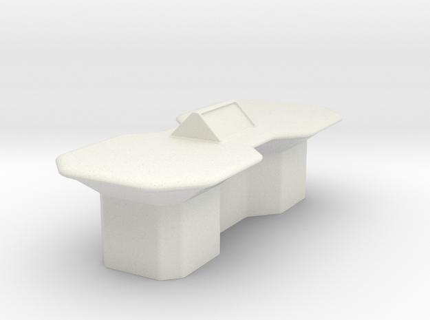 Engineering Table (Star Trek Next Generation) in White Natural Versatile Plastic: 1:30