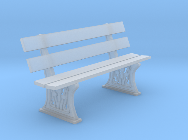 GWR Bench 4mm scale 00 6ft