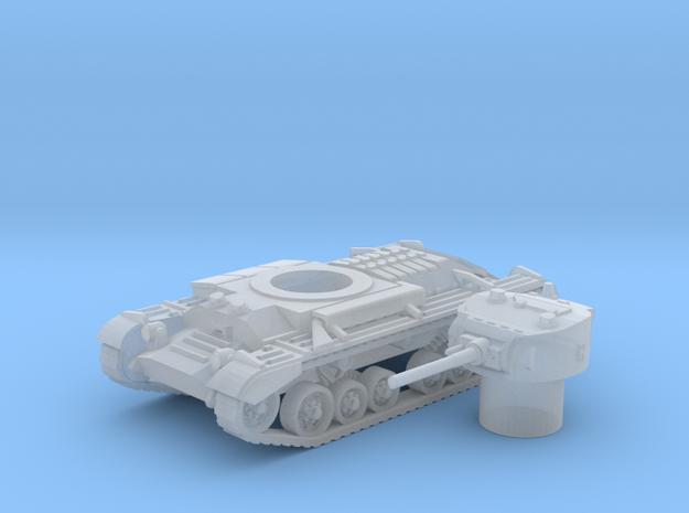 Valentine tank (British) 1/200 in Smooth Fine Detail Plastic