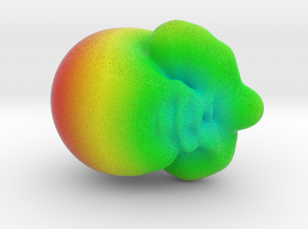 Horn antenna radiation pattern in Full Color Sandstone: Small