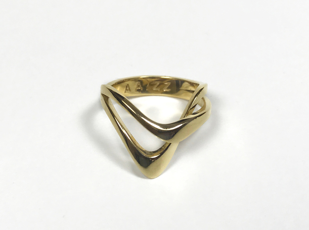KAZE PRECIOUS 14k gold plated in 14k Gold Plated: 4 / 46.5